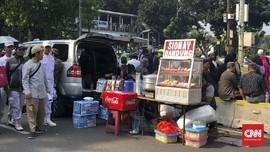Aksi Kawal MK dan Wisata Kuliner di Ruas Jalan Merdeka Barat