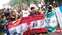 Puluhan Massa Aksi Tahlil Akbar 266 di Bawah Umur