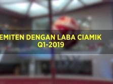 Emiten Paling Ciamik di Q1-2019