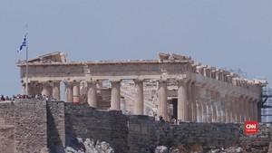 VIDEO: Situs Warisan Budaya Yunani Terancam Perubahan Iklim