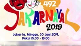 Parade Jakarnaval Meriahkan Rangkaian HUT DKI Jakarta ke-492