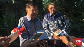 Bertemu SBY, JK Cerita soal Kenangan 9 Kaleng Kerupuk