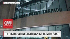 VIDEO: Tri Rismaharini Dilarikan ke Rumah Sakit