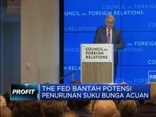 The Fed Bantah Potensi Penurunan Suku Bunga Acuan