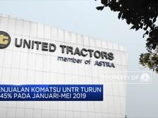 Penjualan Komatsu UNTR Turun 17,45% di Januari-Mei 2019