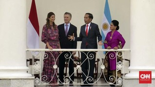 Jokowi Ingin Pasok Salak hingga Nanas ke Argentina