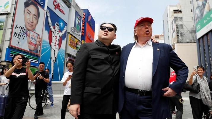 Jelang G20, Donald Trump & Kim Jong Un Hebohkan Osaka
