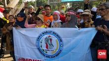 Massa Aksi Minta Hakim MK Coret Jokowi-Ma'ruf Amin di Pilpres