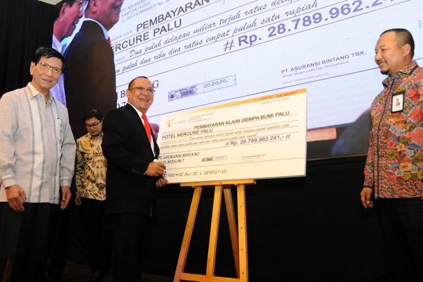 Klaim Rp 28 Miliar untuk Korban Gempa Palu