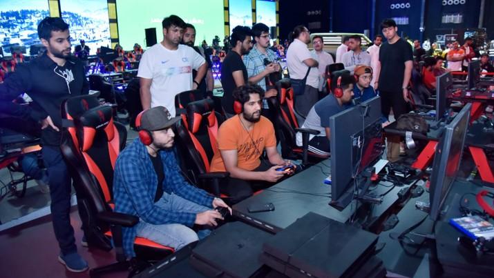 Mengintip Keramaian Turnamen Game Online PUBG di Arab Saudi