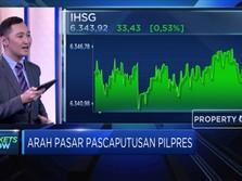 IHSG Melesat Ditengah Sidang Keputusan Sengketa Pilpres