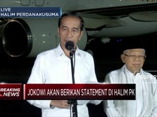 MK Tolak Gugatan Prabowo-Sandi, Ini Reaksi Jokowi-Amin