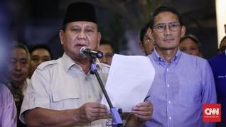 Prabowo-Sandi Tercatat Menang Pilpres 2019 di Desa Fiktif