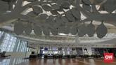 Tak hanya maskapai, PT Garuda Maintenance Facility Aero Asia Tbk (GMF) tengah mengkaji pembangunan fasilitas perawatan pesawat di BandaraKertajati. (CNNIndonesia/Adhi Wicaksono).