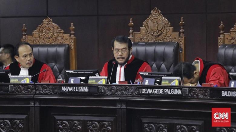 MK Tolak Sengketa Caleg Gerindra Gugat Rekannya Sendiri