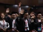 Wajah Sumringah Tim Hukum Jokowi-Amin Usai MK Tolak Prabowo