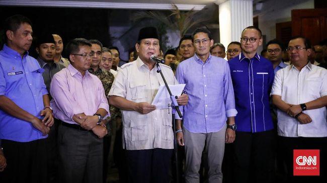 Prabowo Kumpulkan Eks Koalisi di Hambalang dalam Waktu Dekat