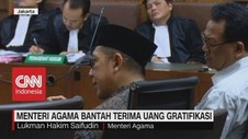VIDEO: Menteri Agama Bantah Terima Uang Gratifikasi