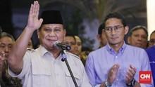 Sandiaga Sebut Prabowo Paling Pantas Bantu Jokowi