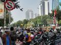 Sidang Putusan MK, Jalan Merdeka Selatan Jadi Tempat Parkir