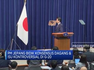 PM Jepang Bidik Konsensus Dagang & Isu Kontroversial di G20