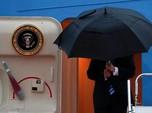 Trump dan Air Force One Disambut Guyuran Hujan di KTT G20