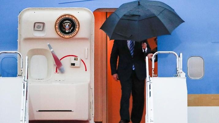 Trump dijadwalkan mengadakan sembilan pertemuan bilateral dengan berbagai negara, seperti Jepang, China, dan Rusia, di sela-sela pertemuan G20 di Osaka.