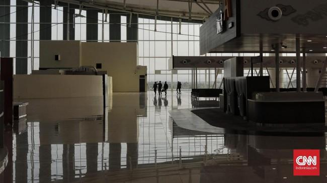 Maskapai yang beroperasi di Bandara Kertajati antara lain, maskapai Garuda Indonesia, AirAsia, Citilink, dan Lion Air. (CNNIndonesia/Adhi Wicaksono).
