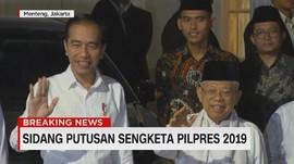 VIDEO: Semobil, Jokowi-Ma'ruf Meluncur ke Bandara Halim