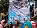Pesan Rindu untuk Rizieq Shihab di Aksi Kawal MK