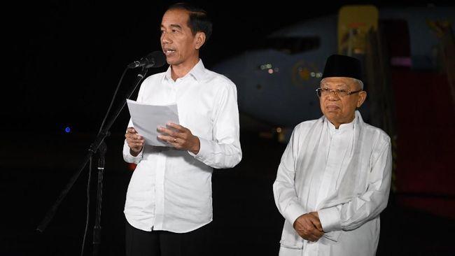 Jokowi Diprotes karena Tak Bahas Visi Hukum dan HAM