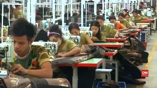 Aktivitas Pabrik China Lesu Akibat Perang Dagang dengan AS