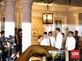 Jokowi Jemput Ma'ruf Amin, Bakal Beri Pernyataan di Halim
