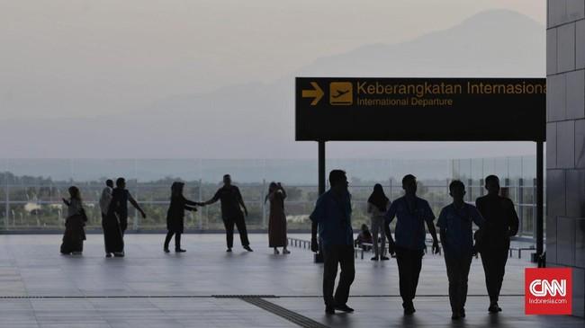 Setidaknya ada 56 penerbangan, meliputi 13 rute domestik yang akan beroperasi di Bandara Kertajati. (CNNIndonesia/Adhi Wicaksono).