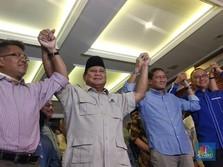 Prabowo: Meski Mengecewakan Kami Mengikuti Konstitusi