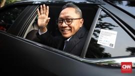 Beda dengan Amien, Zulhas Tegaskan Dukung Jokowi Tanpa Syarat