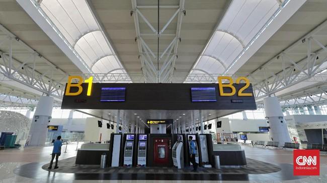 Bandara Kertajati memiliki luas lahan 837 hektare (ha) dengan landasan pacu sepanjang 3.000 meter. Bandara baru di Jawa Barat ini diklaim mampu menampung hingga 5 juta penumpang per tahun. (CNNIndonesia/Adhi Wicaksono).