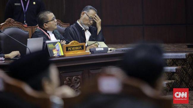 MK: Kesaksian soal 'Kecurangan Bagian Demokrasi' Tak Relevan
