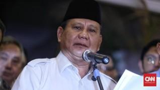 Saran Prabowo ke Jokowi agar Ekonomi Naik ke Level 15 Persen
