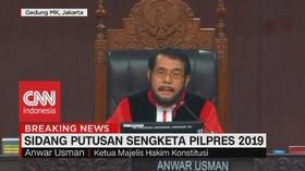 VIDEO: Ketua MK: Putusan Tak Mungkin Puaskan Semua