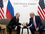 Rusia Bela Donald Trump, Putin: Pemakzulan Dibuat-buat