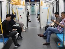 Ini Lokasi 4 Kereta MRT yang Terjebak di Bawah Tanah