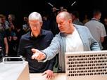 Desainer iMac & iPhone Mundur, Saham Apple Anjlok 1%