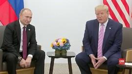VIDEO: Trump Tersenyum saat Minta Putin Tak Intervensi Pemilu