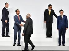 Jokowi Jadi Presiden Lagi, Trump sampai Abe Ucapkan Selamat