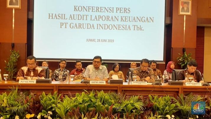 Sekretaris Jenderal Kementerian Keuangan Hadiyanto mengatakan auditor tidak menerapkan sistem pengendalian mutu