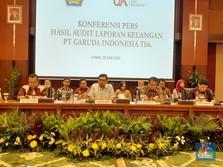 Kemenkeu, OJK & BEI Kompak Sanksi Garuda karena Lapkeu 2018