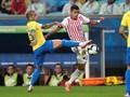 Babak Pertama Copa America: Brasil vs Paraguay Imbang