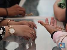 Ibu-ibu Jangan Kaget, Emas di Pegadaian Ada yang Naik 5%