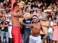 FOTO: Memahami Persaudaraan Lewat Tradisi Pukul Sapu
